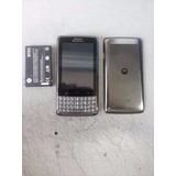 Nextel Iron Rock Xt627 Dual Chip Iden E 3g Android Avista $$