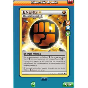 Pokemon Tcg Online - Energía Fuerza - Carta Virtual