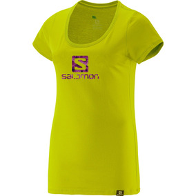 Remera Salomon - Logo Ss Tee W- Mujer