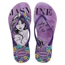 Chinelo Havaianas Slim Princesas - Disney - Way Tenis