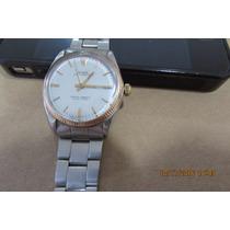 Relógio Rolex Coroa Ouro Amarelo; Certificado Loja Rolin
