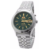 Reloj Orient Automatico Fem0301xf9 Calendario Hombre Gtía