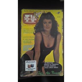 Lourdes Munguia En Portada De Revista Tele Guia Año-1985