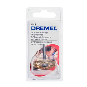 Dremel Acc Disco 543 Cortar Carburo De Tungsteno 1-1/14 In