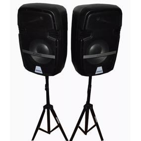 Parlantes Gran Potencia Consola Amplificador Mixer Bluetooth
