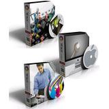 Dvd Cursos Manutenção Computadores Note Impressoras E Apple.