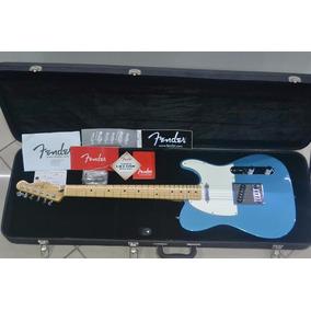 Guitarra Fender Telecaster Standard Mexicana Azul Nova
