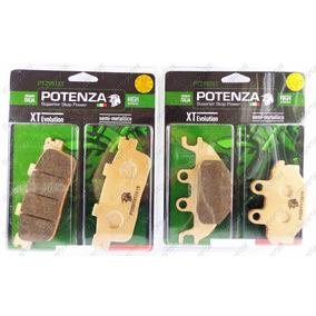 Kit Pastilha Diant Traseira Potenza Metalica Dafra Next 250
