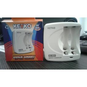 Cargador Pila Recargable Aa Y Aaa (carga Rápida)marca Keyko