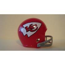 Super Bowl # 04 Nfl Kansas City Chiefs Casco Y Tarjetas