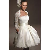 Hermoso Vestido De Novia Importado - Listo Para Usar!