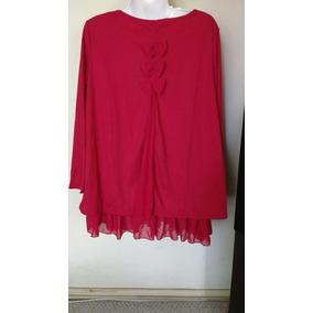 Blusón Rojo Xl $12000
