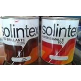 Pintura Aceite Solintex 1/4 Óleo Brillante Y Super Esmalte