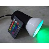 Lanterna Cromoterapia / Controle Remoto 16 Cores