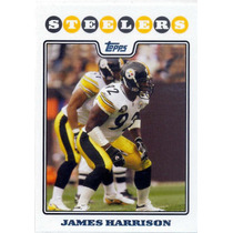 2008 Topps #241 James Harrison Rc Acereros De Pittsburgh