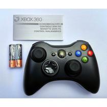 Controle Para Xbox 360 Original Microsoft Novo