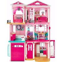 Barbie Casa De Los Sueños 1.20m Luz Sonido 70 Accesorios