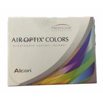 Pupilentes Air Optix Color Envío Gratis + Solución + Estuche