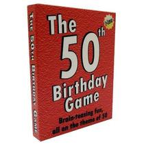 El Partido Número 50 Cumpleaños. Diversión Idea De La Fiesta