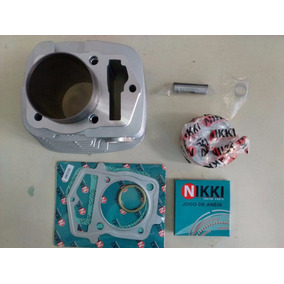 Kit Cilindro Pistão Anel Motor Completo Crf230 Nikki Premium