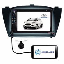 Central Multimídia Hyundai Ix35 Câmera + Moldura Original
