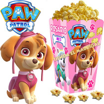 Kit Imprimible Paw Patrol Patrulla Nena Candy Bar Y+ 2x1