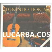 Cd - Toninho Horta - Solo Ao Vivo - Lacrado - Duplo