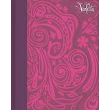 Caderno Diário Tilbra Violetta 96 Folhas Capa Dura