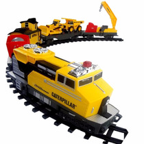 Trem Motorizado Construction Express Caterpillar Dtc 3644