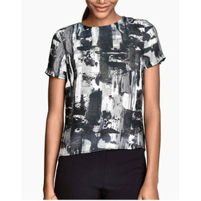 Camisa Feminina Blusa Em Cetim - Tam: P