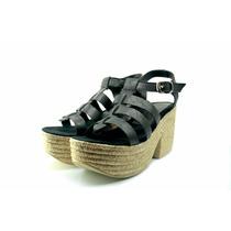 Sandalias Con Taco. Zapatos Mujer. Calzado Damas. Ss17
