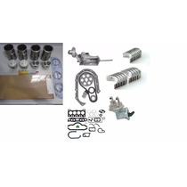 Kit Motor Reparação Completo Pampa 1.6 Cht Alcoo Metal Leve