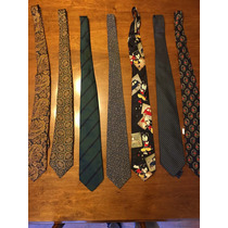 Corbatas De Seda Cristian Dior Y Otras Marcas.
