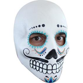 Máscara De Látex De Catrin Deluxe, Catrines, Día De Muertos