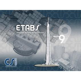 Etabs V9 Licencia Permanente