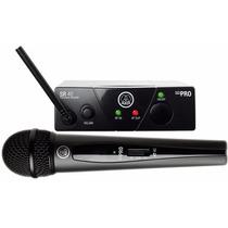 Micrófono Inalambrico Akg Wsm 40 Mini Sistema Uhf Dinámico