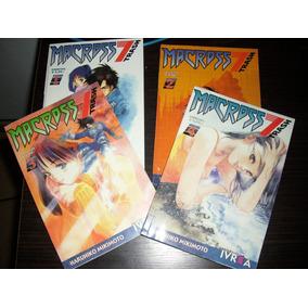 Macross 7 Trash Mikimoto Manga Todos Los Tomos