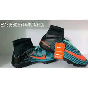 Society Nike Cano Alto Botinha N41 Mercurial Superfly Adulto