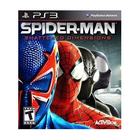 Spider-man: Shattered Dimensions Ps3 D191t4l