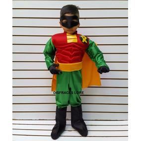 Disfraz De Robin Regalo Para Niños Disfraces Super Heroes
