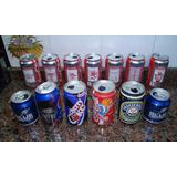 Lote Latas Latitas Gaseosa Coca Cola Pepsi Cerveza Messi
