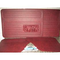 Forro De Porta Fusca Até 77 Vermelho Turin Modelo Original