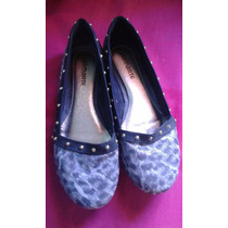 Sapatilha Animal Print Com Spikes