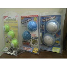 Paquete De Bolas Para Lavadora + Secadora ++ Refrigerador
