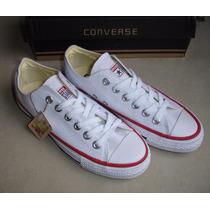 Zapatos Converse Blancos Chuck Taylor Para Damas Y Caballero
