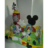 Escenario Grande Chupetera Dispensador Casa De Mickey Ami