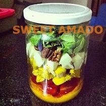 15 Potes Salada Bolo No Pote Vidro, 500ml, 600ml Conserva