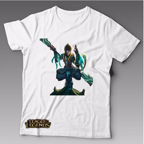 Camiseta Gamer League Of Legends Wukong