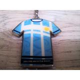 Ch003 Chaveiro Camisa Copa Brasil 2014 Metal Oficial