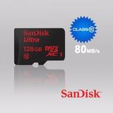 Cartão De Memória Sandisk Micro Sdxc Ultra 80mb/s 128gb Sd